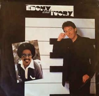 Stevie Wonder y Paul MacCartney