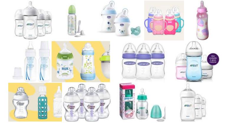 modern baby bottles