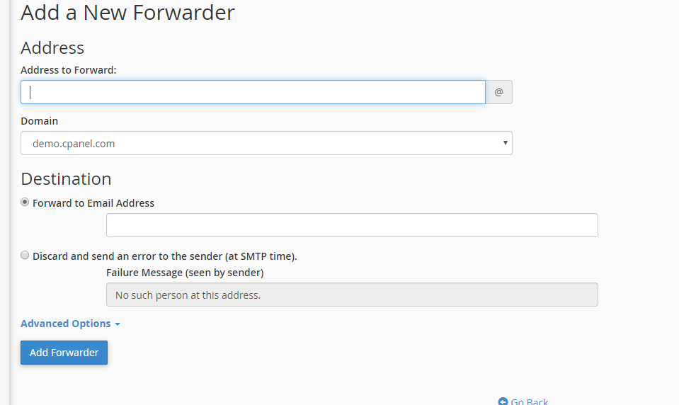 Add a new Forwarder