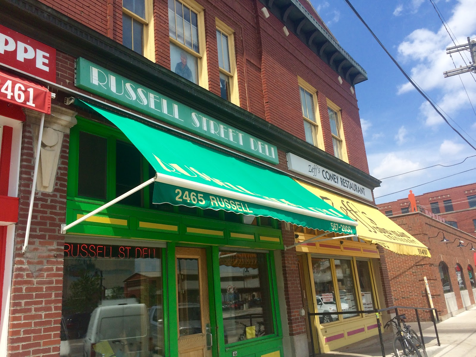Open for breakfast and lunch, Russell Street Deli is a great place to stop any day of the week in Eastern Market
