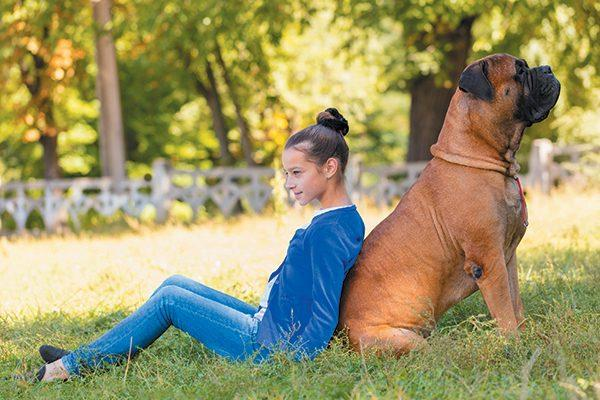 Bullmastiffs and Children - Are Bullmastiffs Good with Kids?