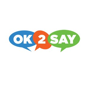 Okay2Say logo