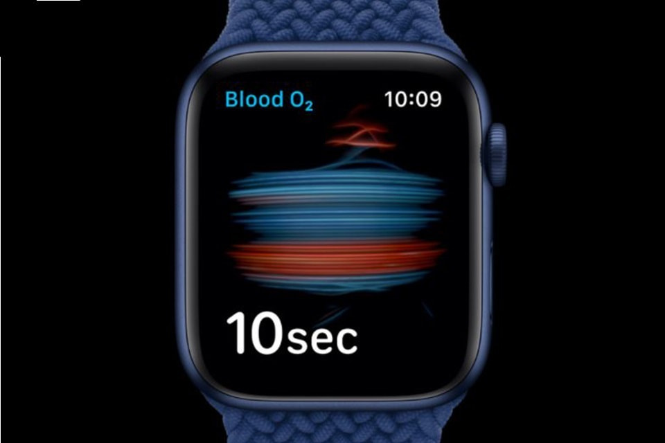 SpO2 Apple Watch Series 6