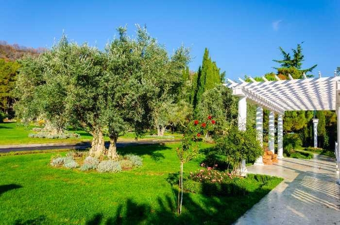 Grecian Pillared