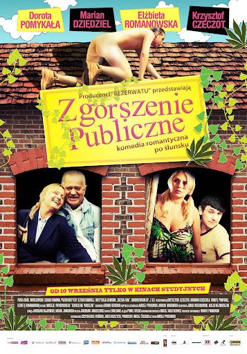 Polski plakat filmu 'Zgorszenie Publiczne'
