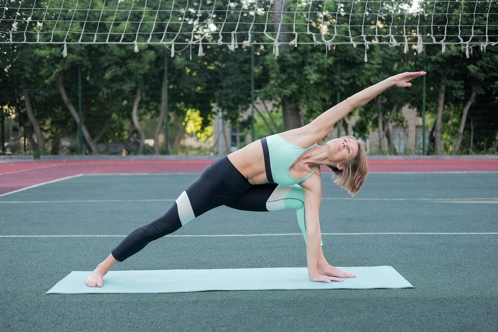 Lunging Side Stretch