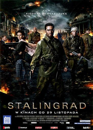 Przód ulotki filmu 'Stalingrad'