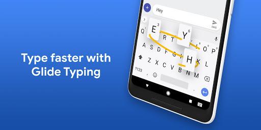 نوشتن با کشیدن در کیبورد گوگل