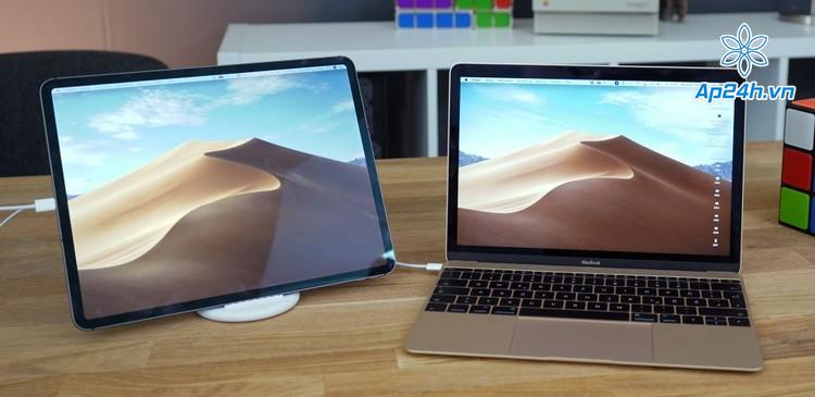 Sử dụng iPad để làm màn hình thứ 2 cho MacBook