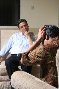 counseling with psychiatrist