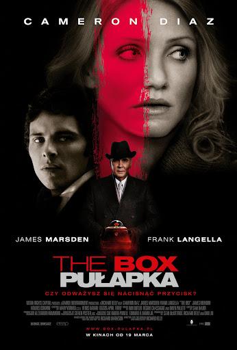 Polski plakat filmu 'The Box. Pułapka'