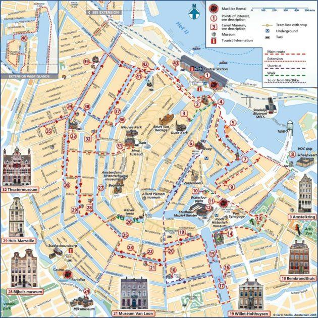 Visiter Amsterdam En Un Week End