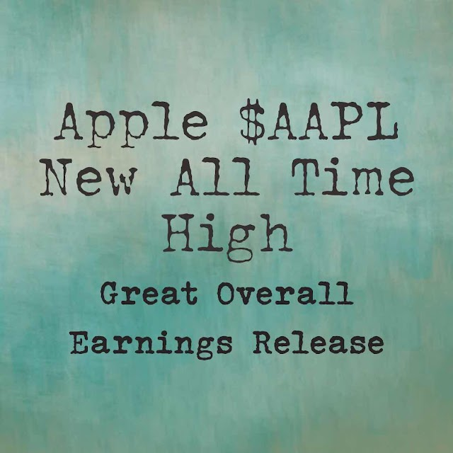Apple Hits New All Time High!