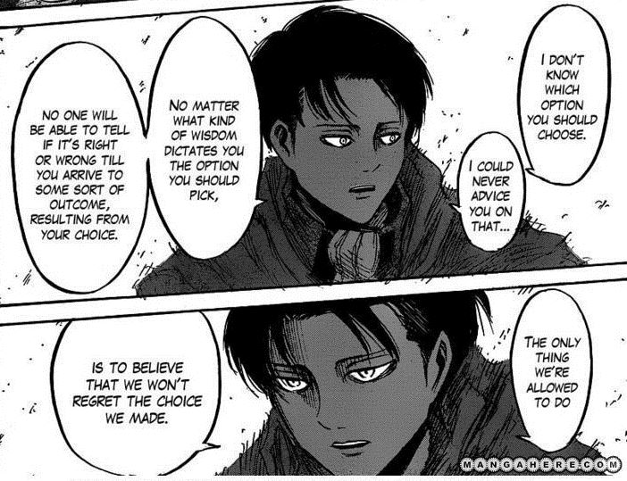 Thoughts on Levi/Rivaille - Chapter 1 - orphan_account - Shingeki no