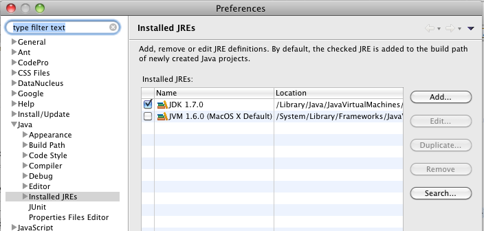 Mac os java jdk install location | How to Install JDK 8 (on