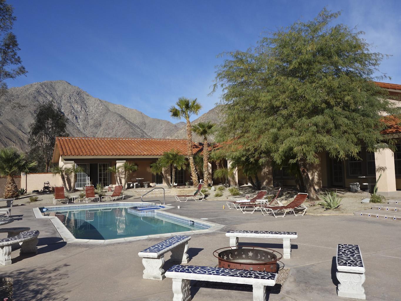 Pool at Hacienda La Verbena