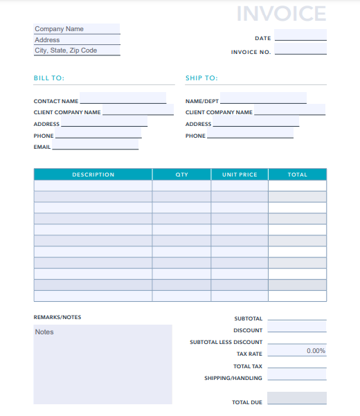 Professional Invoice Design 26 Samples Templates To Inspire You