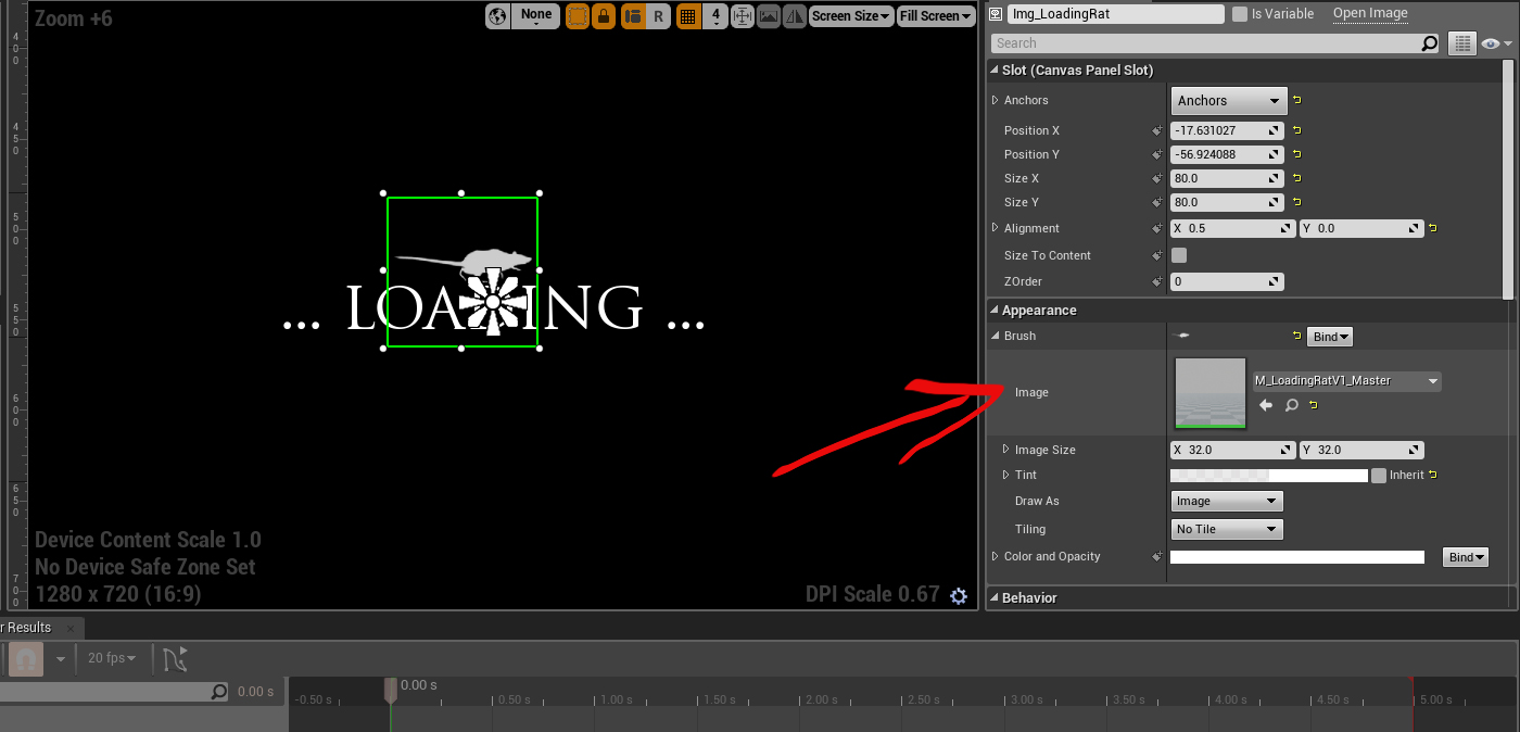 Gamasutra: James R's Blog - Animated Loading Icon In UE4 UMG