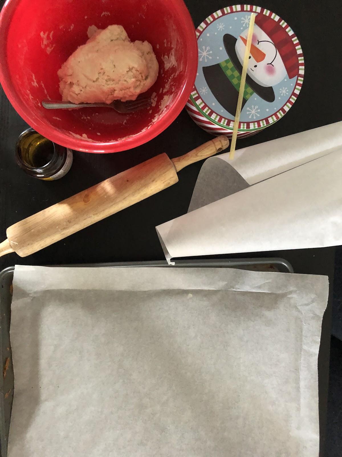 supplies to make salt dough