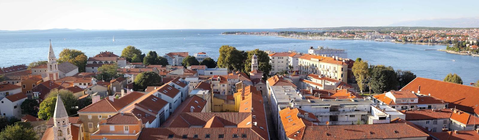 Zadar Croatie Dalmatie