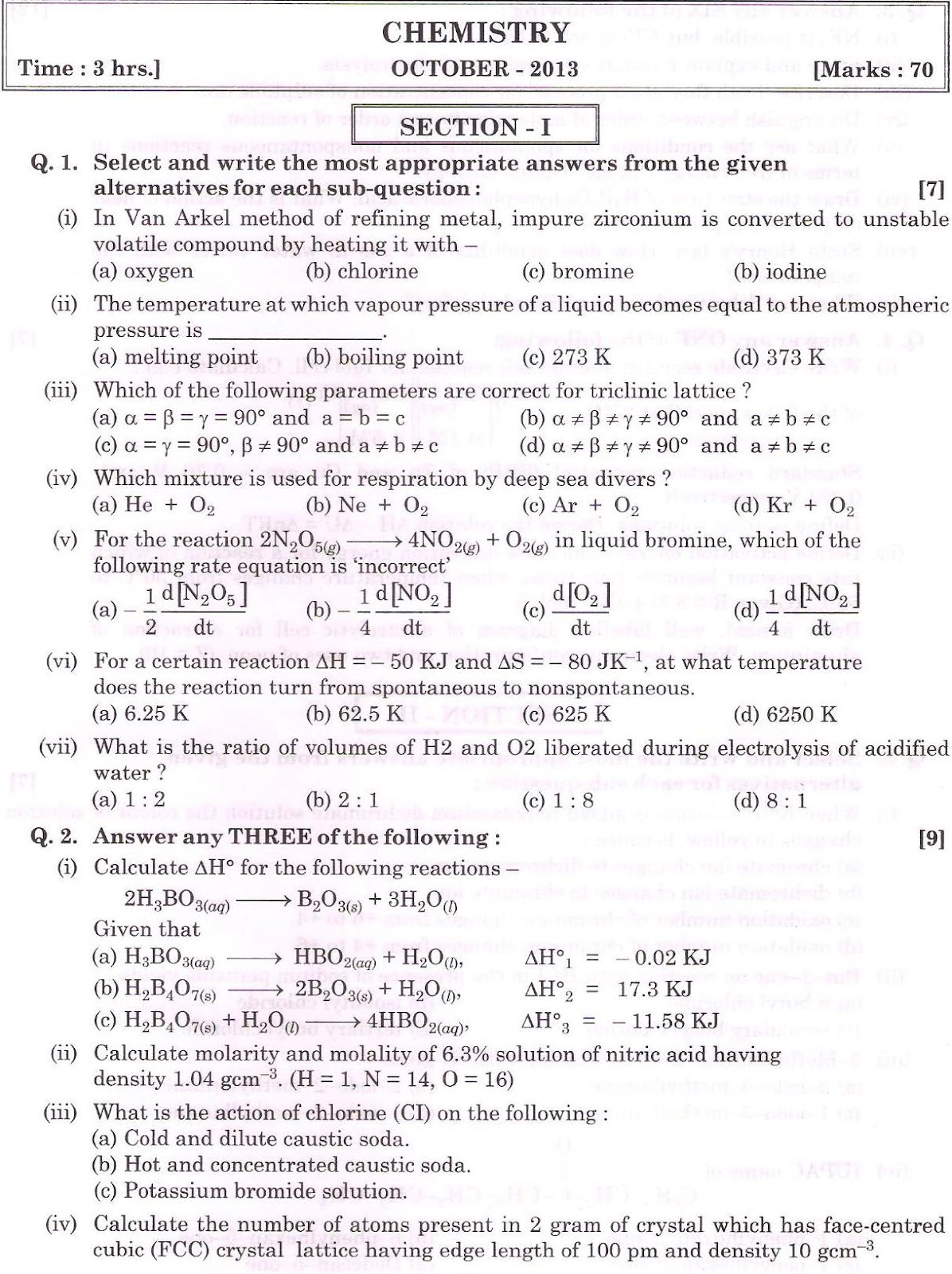 general mathematics hsc past papers