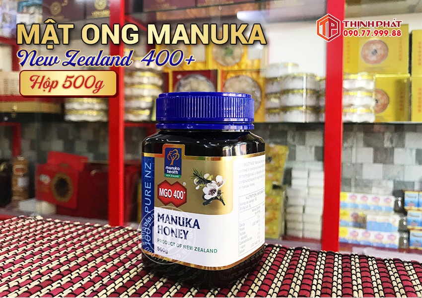 Mật ong Manuka New Zealand 400+ 500g