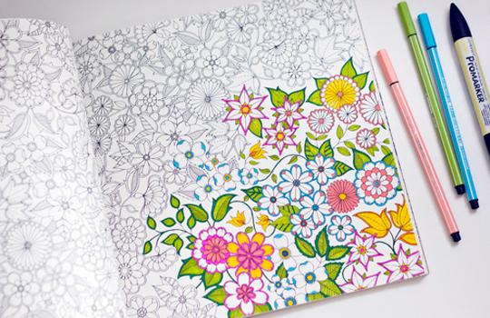 Раскраска на тему цветы