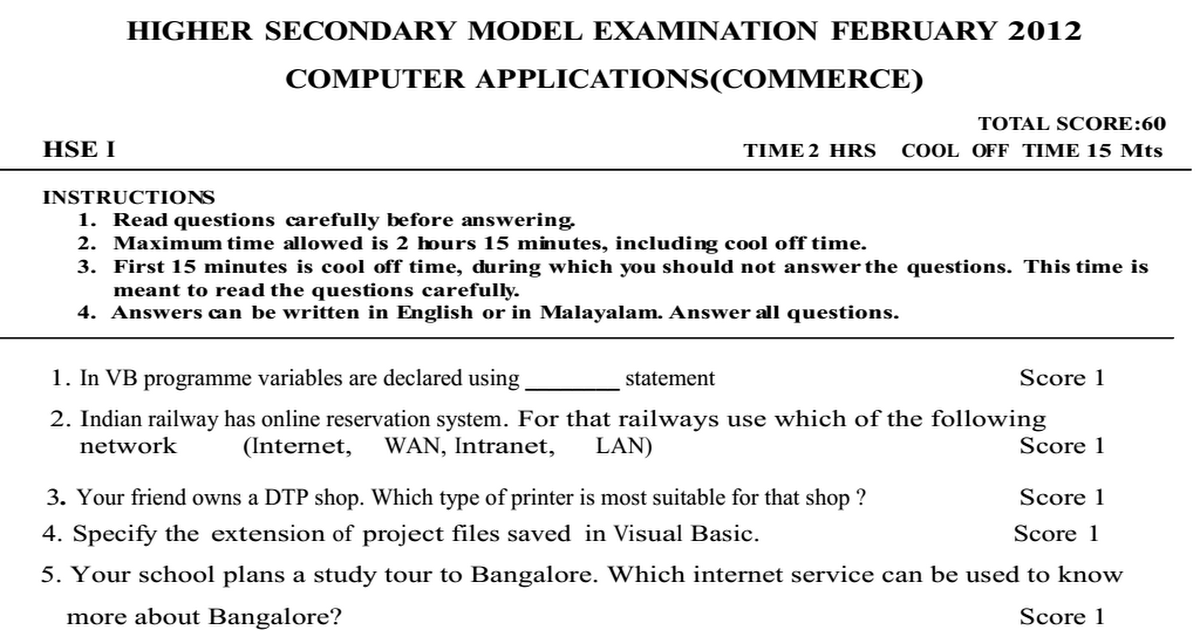 plus one english model question paper Plus one english model question paper search question papers newer post older post plus one english part 1 by rocky | sunday, april 24, 2011 plus one english part 1 plus one history.