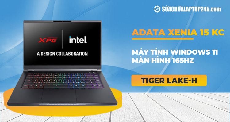 XPG ra mắt laptop XENIA 15 KC cùng loạt thông số ấn tượng