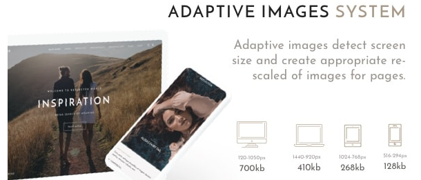 adaptive images system