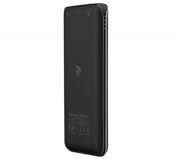 Портативный аккумулятор 2Е PB1036AQC 10000mAh Black