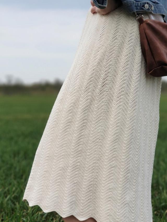 Summer Wave Skirt Crochet Pattern