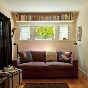 Image result for shelves near the ceiling