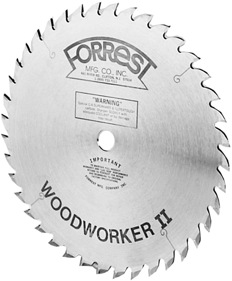 Forrest Woodworker II 10-Inch Kerf Saw Blade