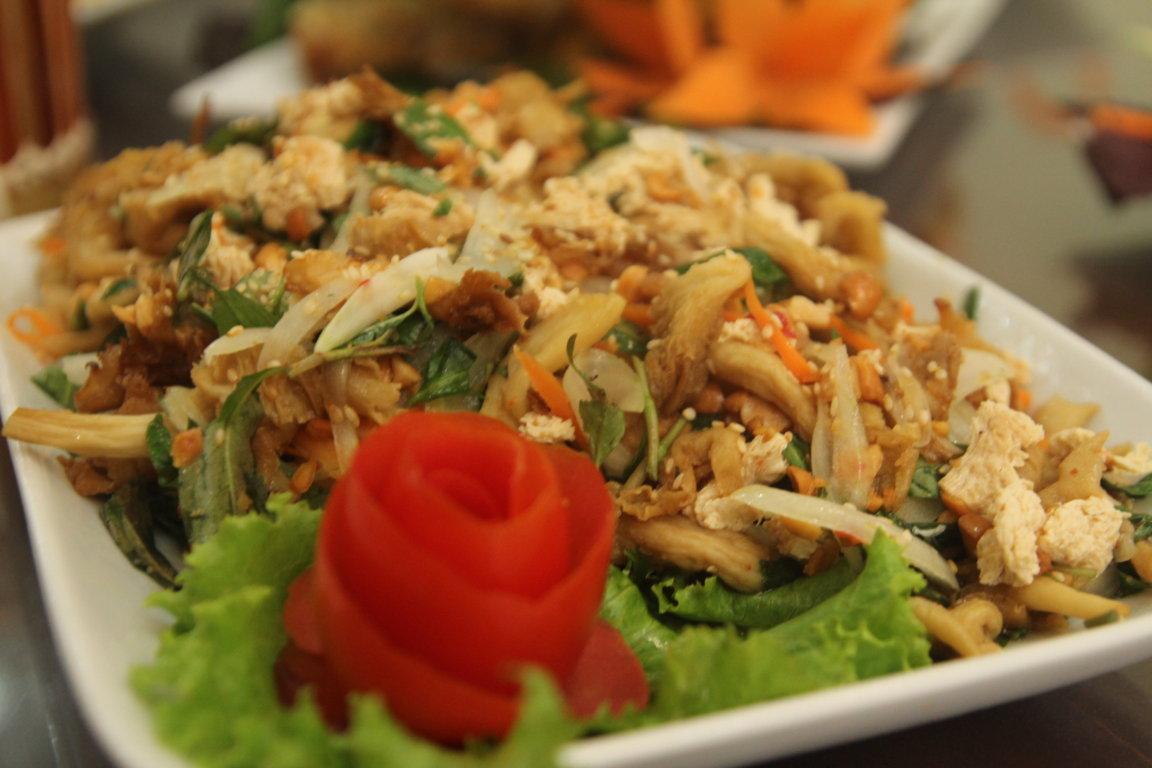Rất nhiều người cho rằng ăn chay không ngon bằng ăn thịt