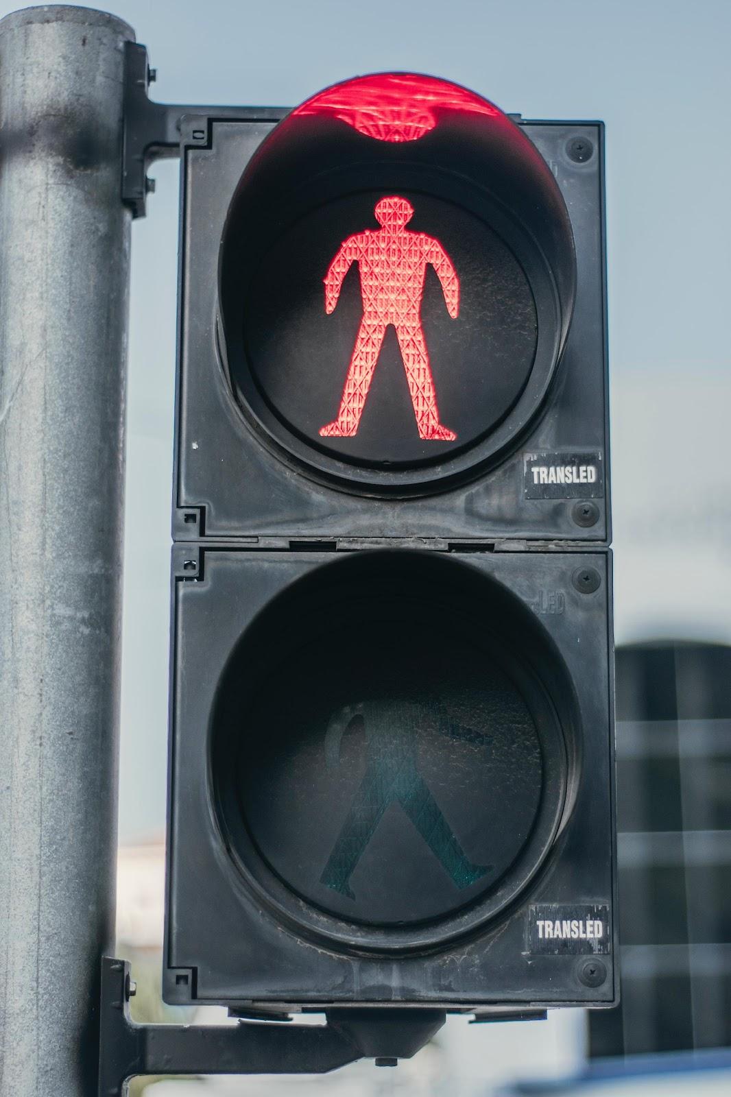 pedestrian walk, don't walk sign