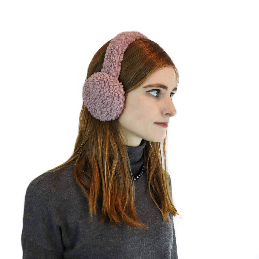 Sherpa Earmuffs with Halo Band
