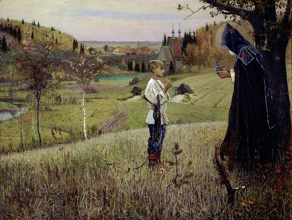 Sergius of Radonezh – ICONS AND THEIR INTERPRETATION