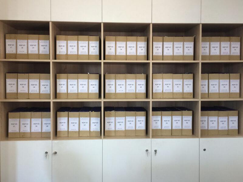 đặt tên các tài liệu lưu trữ