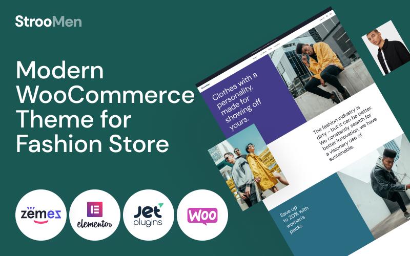 Fastest WooCommerce themes - StrooMen