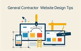 general contractor website design