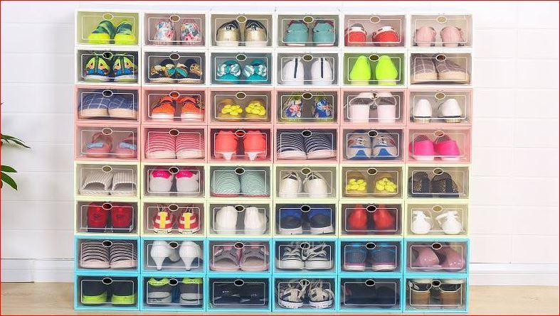 Cách bảo quản các loại giày trong hộp
