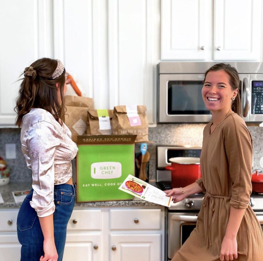 Jessica Gohlinghorst | I the kitchen ready to prep something vegan