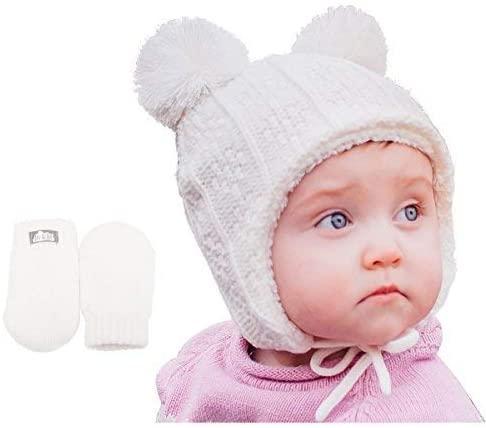 Twinklebelle Baby winter mittens
