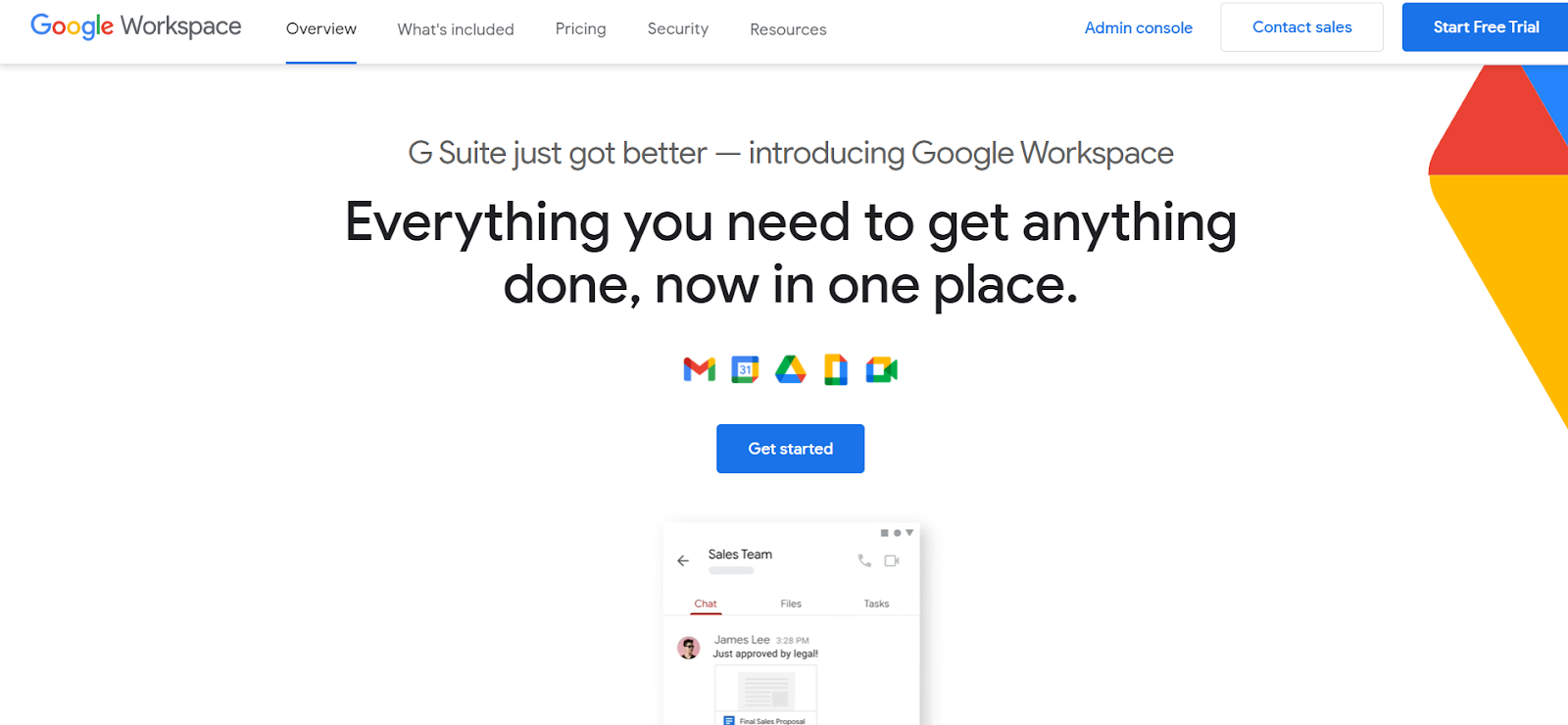 Google Workspace is an Application As A Service
