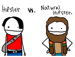 hipster real genuine authentic