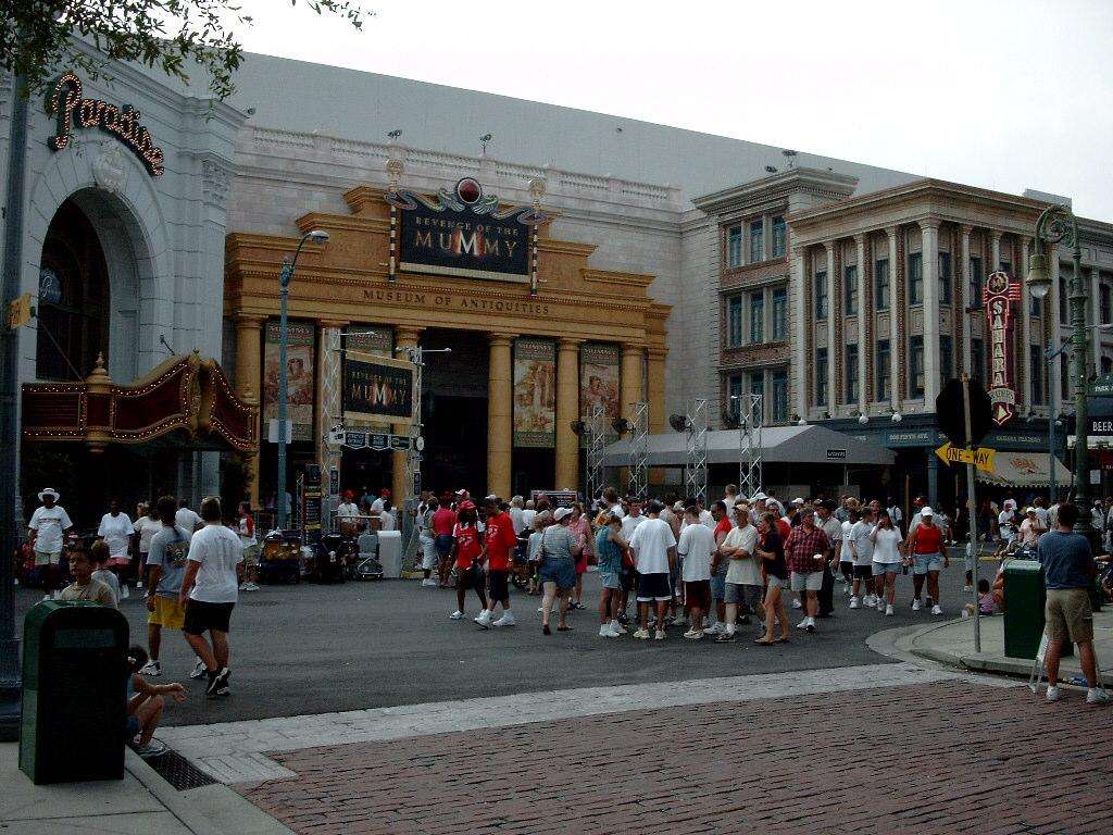 The Mummy Ride in Orlando, FL