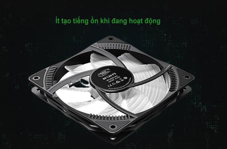 Quạt/ Fan case Deepcool RF120 FS RGB   Hoạt động yên tĩnh