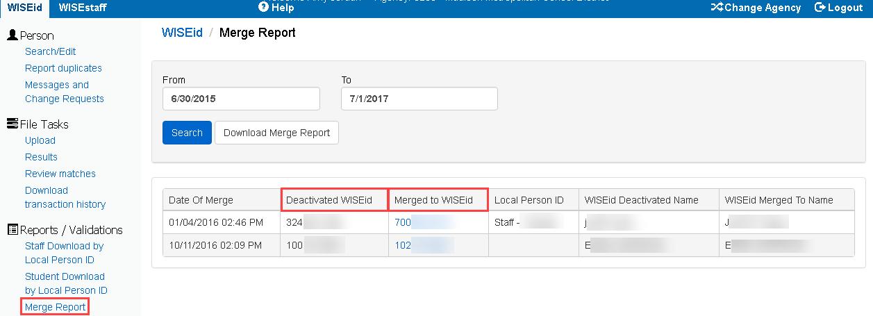 WISEid Merge Report.png