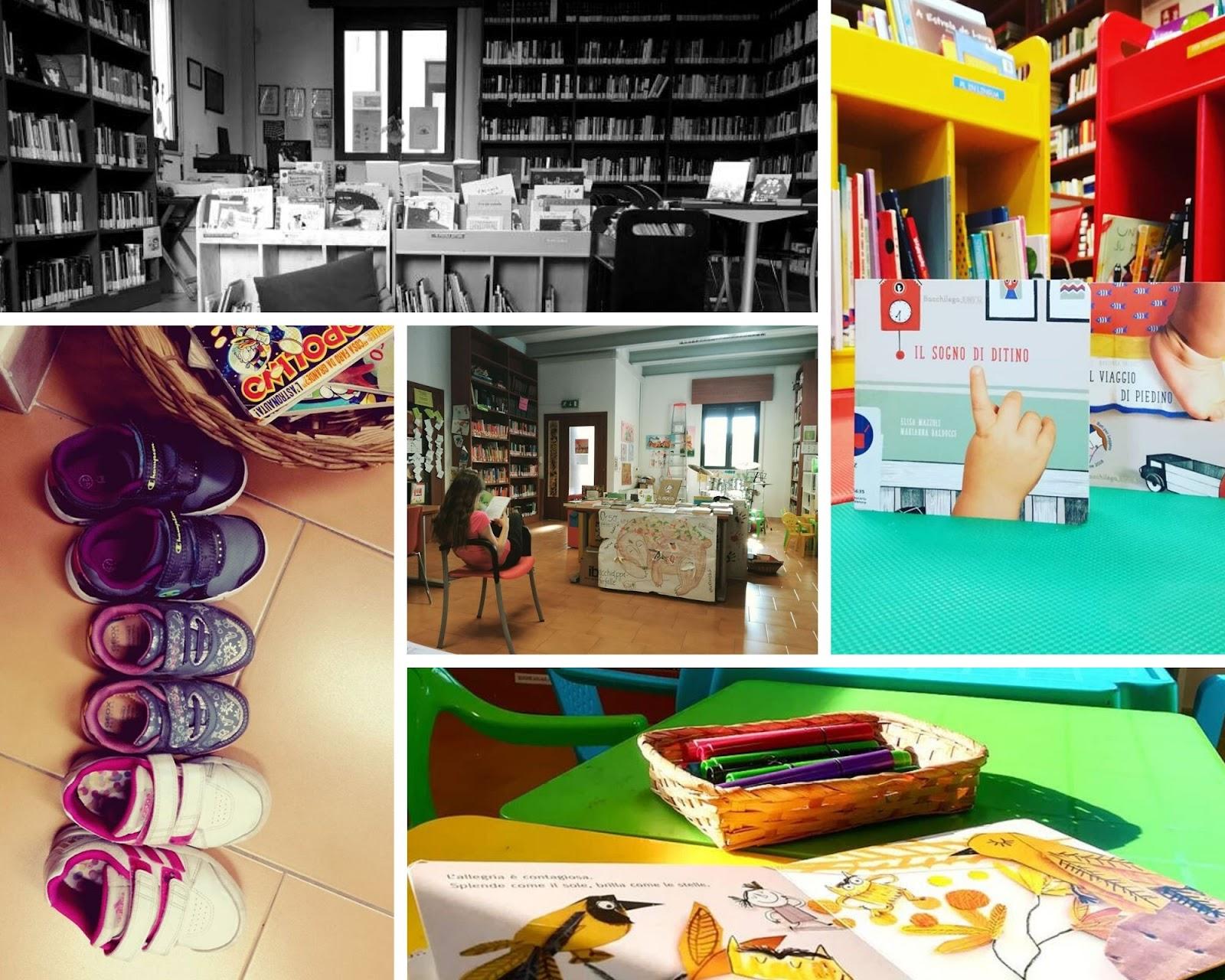 Biblioteca Bonavigo - spazio bimbi